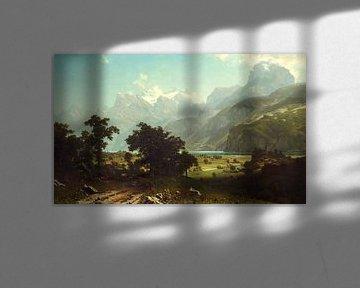 Albert Bierstadt. Lake Lucerne