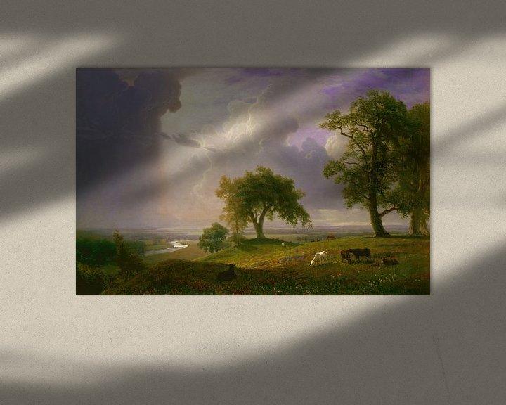 Beispiel: Albert Bierstadt. California Spring