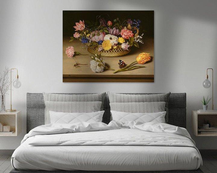 Sfeerimpressie: Ambrosius Bosschaert de Oude. Stilleven met bloemen