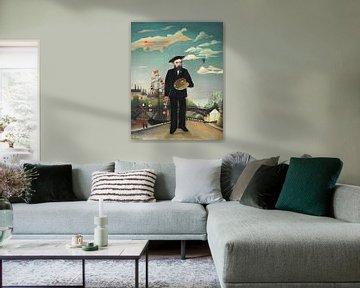 Henri Rousseau. Myself- Portrait – Landscape