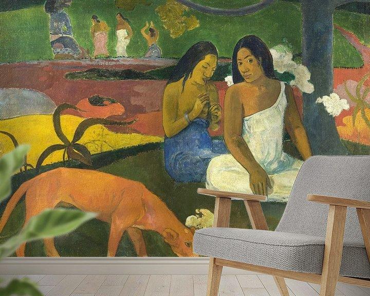 Beispiel fototapete: Paul Gauguin. Arearea