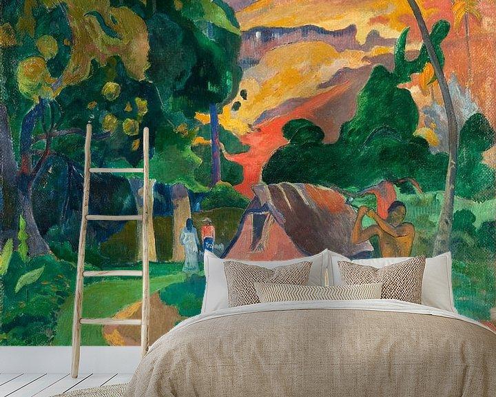 Beispiel fototapete: Paul Gauguin. I Raro Te Oviri