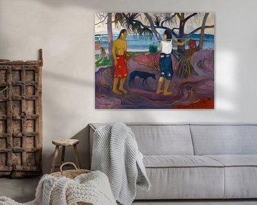 Paul Gauguin. People in Landscape