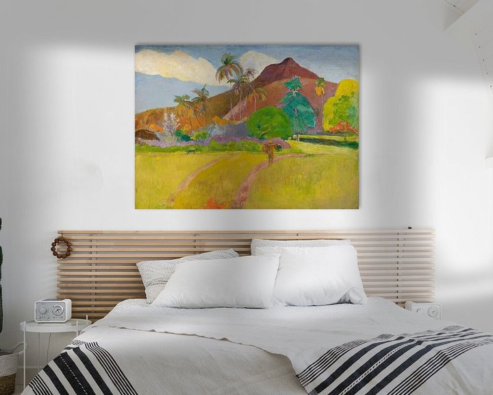 Sfeerimpressie: Paul Gauguin. The  Mountain