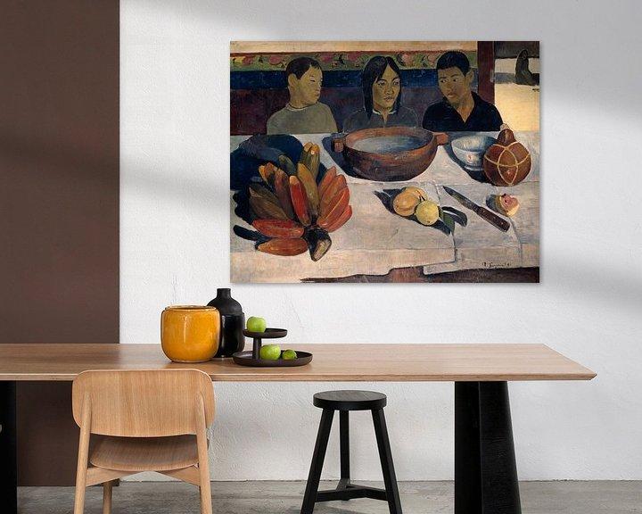 Beispiel: Paul Gauguin. The Meal