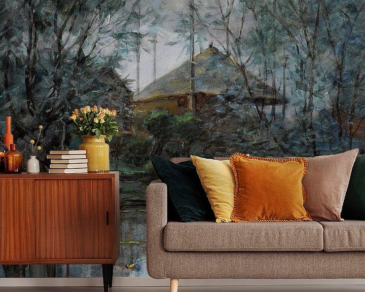 Beispiel fototapete: Piet Mondriaan. Hooischelf