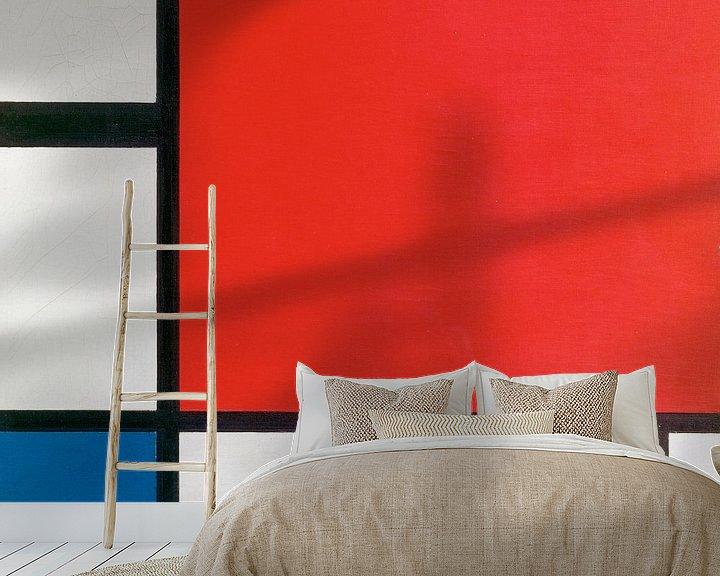 Beispiel fototapete: Piet Mondriaan. Composition II in Red, Blue, and Yellow