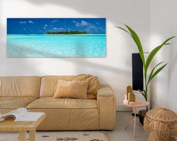 Honeymoon Island, Aitutaki - Cook Islands sur Van Oostrum Photography