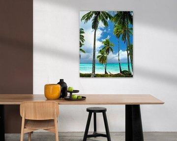 Amuri Beach, Aitutaki - Cook Islands sur Van Oostrum Photography