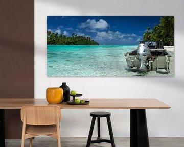 One Foot Island, Aitutaki - Cook Islands sur Van Oostrum Photography