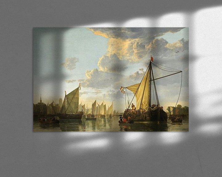 Sfeerimpressie: Albert Cuyp. De Maas bij Dordrecht