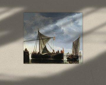 Albert Cuyp. Das Passageboot