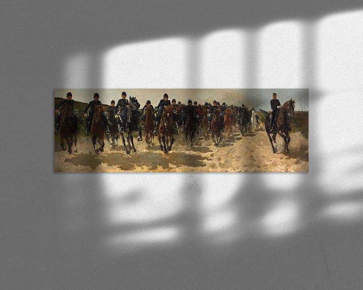 Beispiel: George Hendrik Breitner. Kavallerie