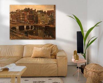 George Hendrik Breitner. Der Rokin in Amsterdam