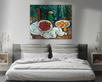 Paul Cézanne Tisch mit Früchten
