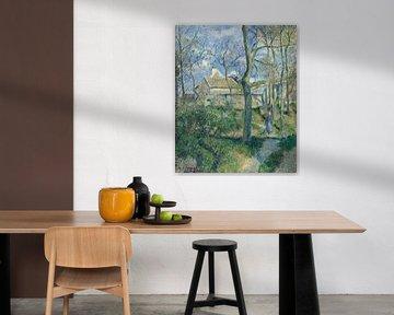 Paul Cézanne. Landschap in Frankrijk