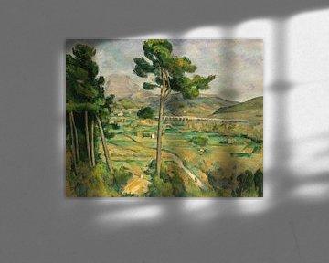 Paul Cézanne. Mont Sainte-Victoire und  Viadukt