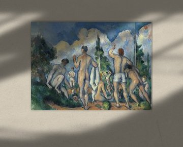 Paul Cézanne. Badende