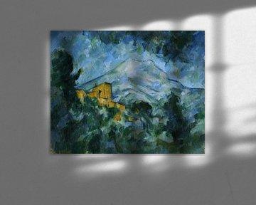 Paul Cezanne - Mont Sainte-Victoire und Château Noir