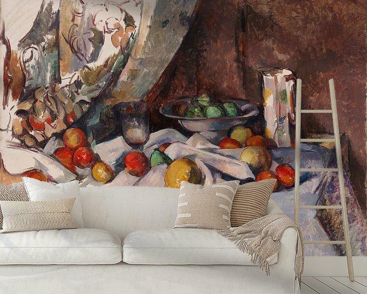 Sfeerimpressie behang: Paul Cézanne - Stilleven
