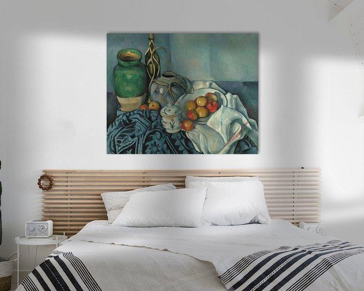Sfeerimpressie: Paul Cézanne - Stilleven Met Appels
