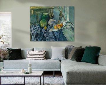 Paul Cézanne - Stilleven Met Een Gember Kruik En Aubergines
