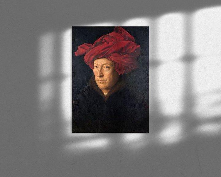 Sfeerimpressie: Jan Van Eyck - Portret van een man