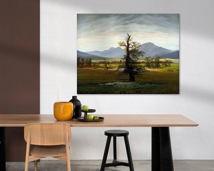 Sfeerimpressie: Caspar David Friedrich - De eenzame boom