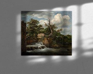Jacob van Ruisdael - Landschaft mit Mühle und Ruinen