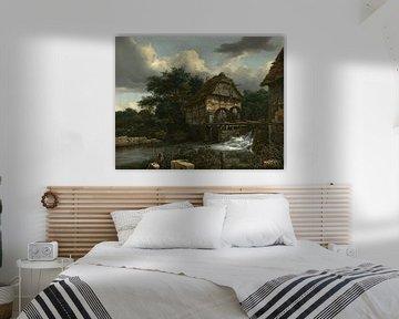 Jacob van Ruisdael - Zwei Wassermühlen und eine offene Schleuse