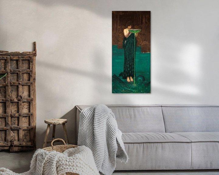 Sfeerimpressie: J. W. Waterhouse - Circe Invidiosa