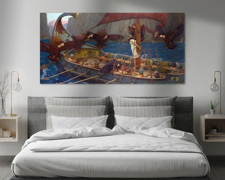 Sfeerimpressie: John William Waterhouse - Ulysses and the Sirens