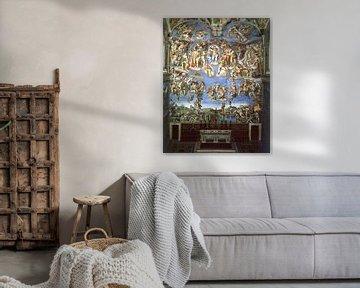 Michelangelo Sixtinische Kapelle, Das letzte Urteil