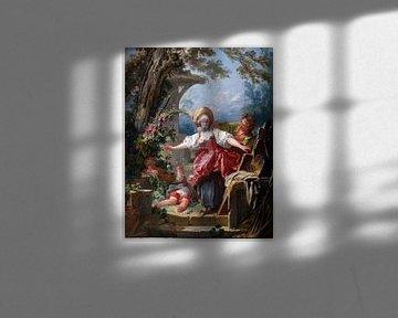 Jean-Honoré Fragonard - Blind-Man's Buff