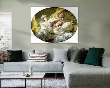 Jean-Honoré Fragonard. The Beautiful Servant
