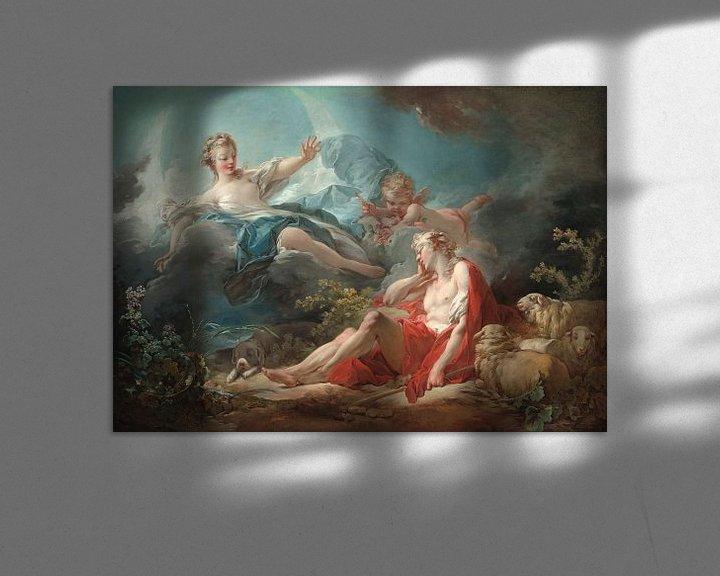 Sfeerimpressie: Antoine Watteau. Diana and Endymion