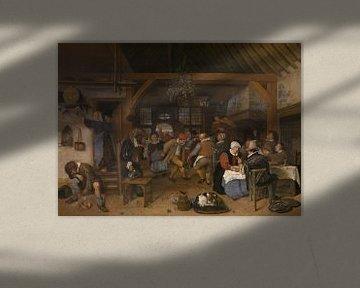 Jan Steen - Hochzeitsfeier