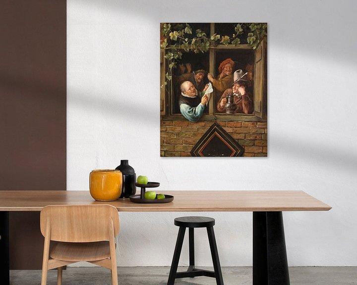 Sfeerimpressie: Jan Steen. Retorici bij een raam