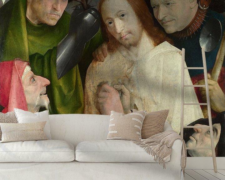 Sfeerimpressie behang: Hieronymus Bosch - Christus bespot