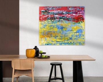 Abstract confetti van Studio Heyki