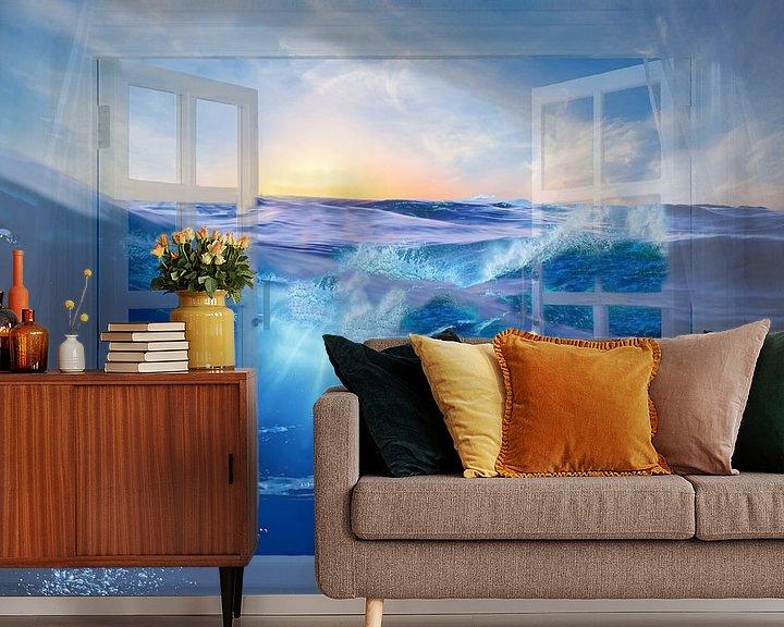 Sfeerimpressie behang: dreaming..... van Thea Ulrich / UtheasArt
