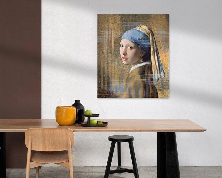 Sfeerimpressie: Meisje met de parel van Lia Morcus