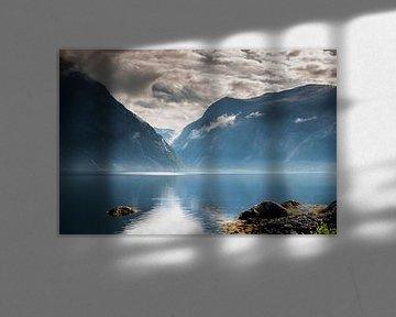 eidfjord in noorwegen