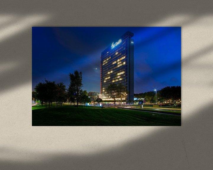Sfeerimpressie: TU Delft Elektrotechniek gebouw van Anton de Zeeuw