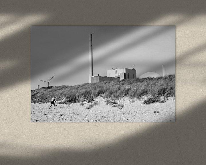 Sfeerimpressie: Kerncentrale (EPZ) - Borssele van Maurice Weststrate