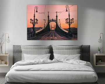 Vrijheidsbrug bij zonsopgang van Joris Pannemans - Loris Photography