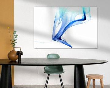 Blue Spoon von Janny Kleijn