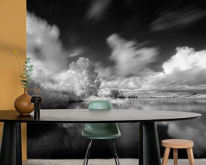 Sfeerimpressie behang: Cloudbusting van John Verbruggen