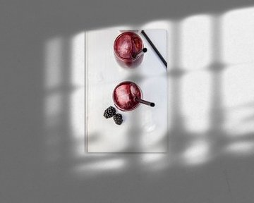 Rum-bramencocktail von Nina van der Kleij