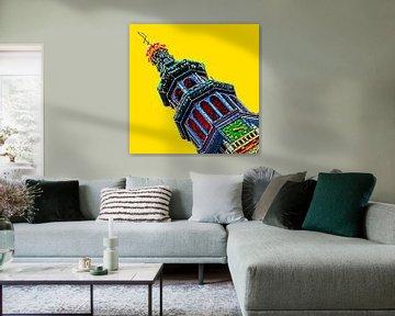 Colorful Middelburg #111 van Theo van der Genugten